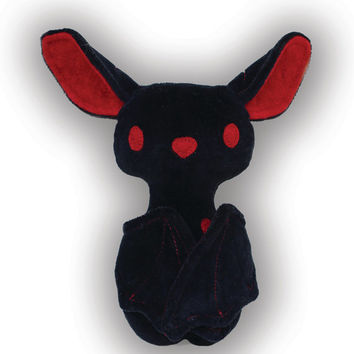 DIY Halloween Bat with flexible wings PDF Sewing Pattern and Tutorial style Instructions Halloween Toys Decoration