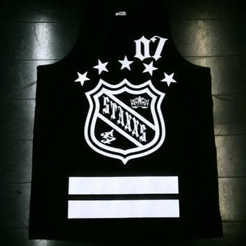KINGS JERSEY TANK BLACK [SOLD OUT]