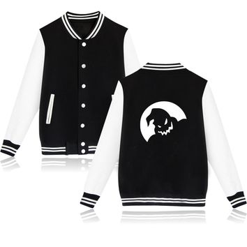 The Nightmare Before Christmas Boogie Baseball Jacket