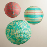 Solstice Paper Lantern Party Pack - World Market