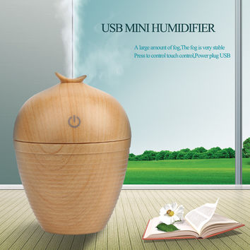 USB Mini Wood grain Humidifier