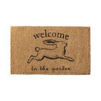 Item: Smith & Hawken® Coir Doormat - Rabbit