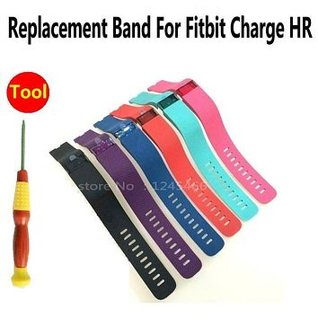 MLLSE Repair fall apart away air bubble peel For Fitbit Charge HR replacement band strap Case Cover replace bands with tool