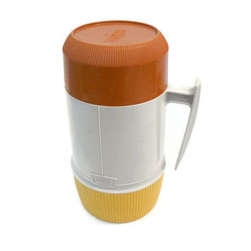 Vintage Thermos Glass Liner Insulated Thermos by TheRetroStudio