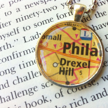 Philadelphia Pendant Necklace
