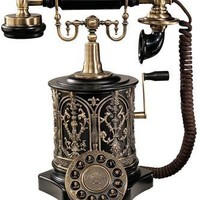 The Swedish Royal Family Replica Telephone - PM1893 - Design Toscano