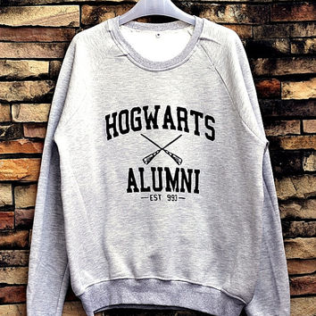 Hogwarts Alumni, Harry Potter Sweatshirt Crewneck Sweater Unisex