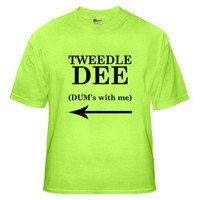 Tweedle Dee T-Shirt T-Shirt on CafePress.com