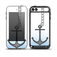 The Gray Chained Anchor Skin for the iPod Touch 5th Generation frē LifeProof Case