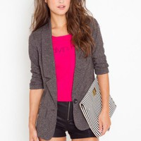 Need For Tweed Blazer - NASTY GAL