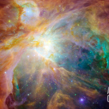 Orion Nebula Photographic Print by Stocktrek Images at Art.com