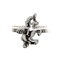 Winged Unicorn Charm Bead - Charm Only