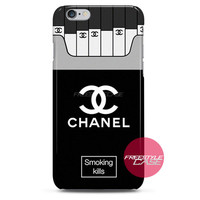 Chanel Coco Smoking Kills iPhone Case 3, 4, 5, 6 Cover