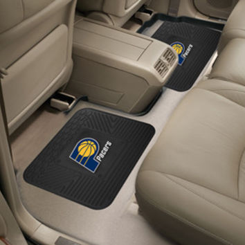 """Indiana Pacers Backseat Utility Mats 2 Pack 14""""x17"""""""