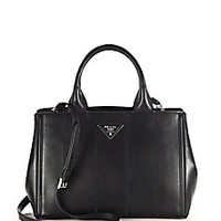 Prada - Soft Calf Tote - Saks Fifth Avenue Mobile