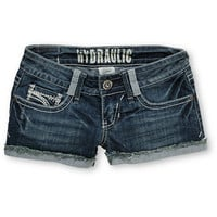 Hydraulic Jeans Jody Distressed Denim Shorts at Zumiez : PDP