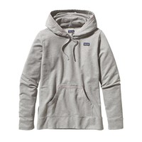 Patagonia Women's Midweight Hooded Monk Sweatshirt | Trim Variety: Feather Grey