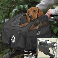 Dog Travel accessories: Bike Basket by Pet Gear at Drs. Foster and Smith