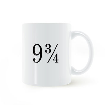 9 3 4 Harry Potter Mug Coffee Milk Ceramic Cup Creative DIY Gifts Home Decor Mugs 11oz C153