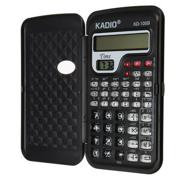 Newest Universal School Office Digital Mini Scientific Calculator For Student Function Counter Calculating Machine With Clock