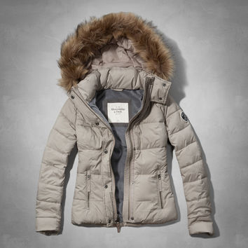A&F Classic Puffer Jacket