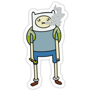 """Adventure Time's Finn in """"The Exhale"""""""