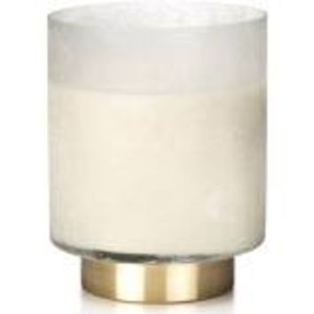 Frosted Glass Scented Candle Jar