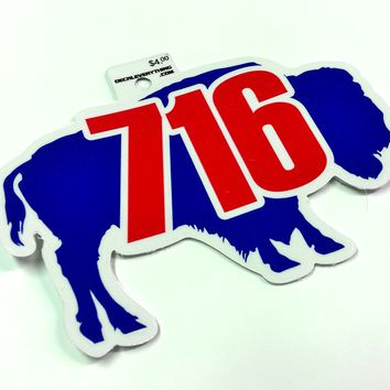 Buffalo 716 Sticker