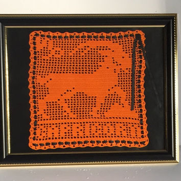 Zodiac Crochet Handmade Capricorn  Sign and Symbol - Horoscope Sign and Symbol - Astrology Signs