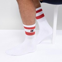 Champion Socks In White at asos.com