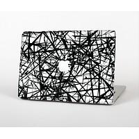 The Black and White Shards Skin Set for the Apple MacBook Air 13""