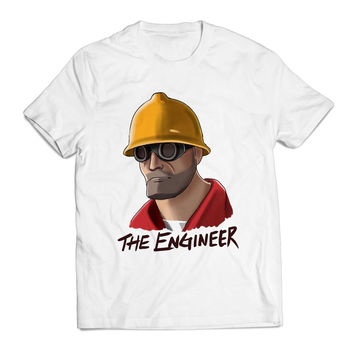 The Engineer Unique Clothing T shirt Men