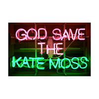 GOD SAVE THE KATE MOSS ネオン : CIBONE