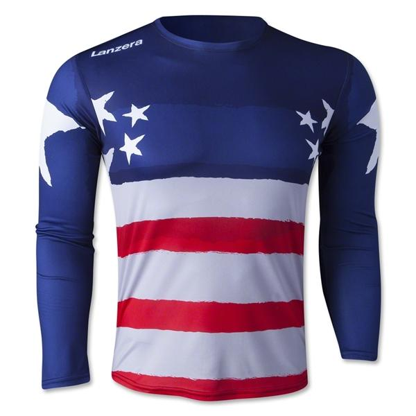 Lanzera Usa Long Sleeve Goalkeeper Jersey From