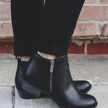Blair Booties - Black