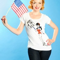 Made in the USA Pinup Tee