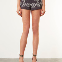 Embellished Contrast Shorts - New In This Week - New In - Topshop