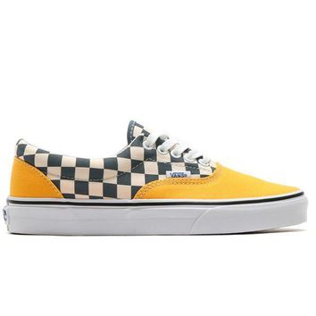 VANS ERA 2-TONE CHECK - CITRUS/TRUE WHITE