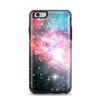 The Colorful Neon Space Nebula Apple iPhone 6 Plus Otterbox Symmetry Case Skin Set