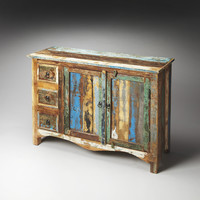 Artifacts Reverb Rustic Sideboard Recycled Wood