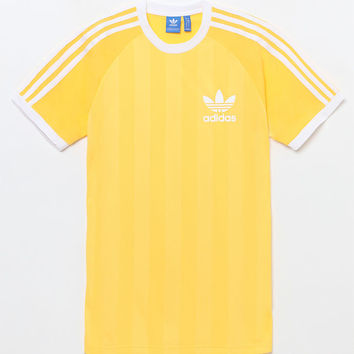 adidas adicolor California Yellow T-Shirt at PacSun.com