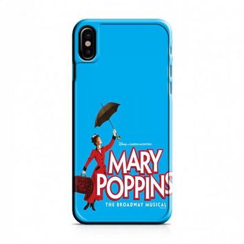 Mary Poppins The Broadway Musical iPhone X Case