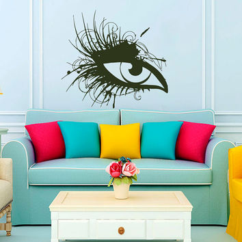 Wall Decal Vinyl Sticker Perfecr Women Eye Beauty Salon Art Design Room Nice Picture Decor Hall Wall NA78