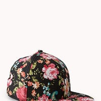 Garden Floral Fitted Hat