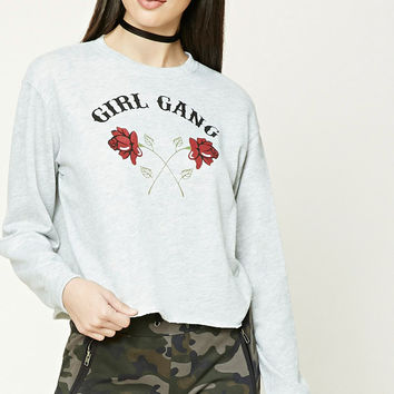 Girl Gang Graphic Sweatshirt