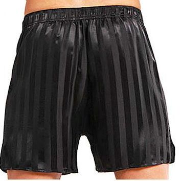Boxer Shorts - Silk Jacquard Striped (2X-3X)