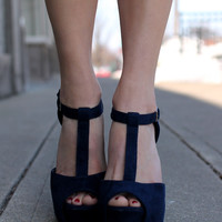 Where We Met Heel - Navy