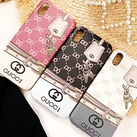 GUCCI Tide brand couple iPhoneX mobile phone case cover