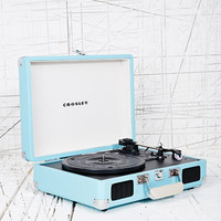 Crosley Mini Cruise Turntable UK Plug in Aqua at Urban Outfitters