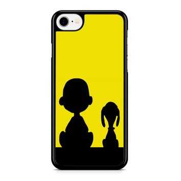 Snoopy And Charlie Brown Iphone 8 Case